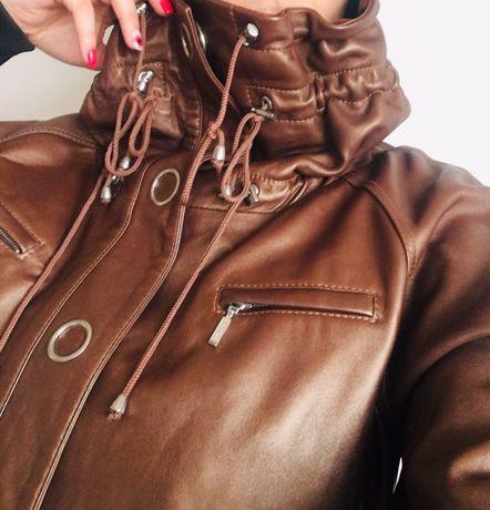 Дизайнерско кожено яке- естествена кожа