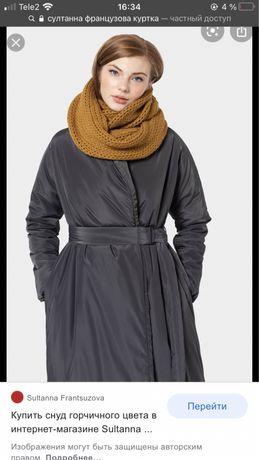 Зимняя куртка от Sultanna Frantsuzova