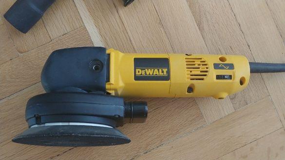 Машина за циклене полиране орбитален шлайф Dewalt DW443 150