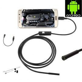 USB водоустойчив андроид ендоскоп 1м/6Led диода (2м/6 диода)