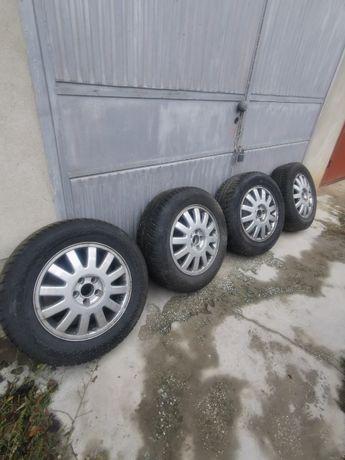 Зимни гуми с лети джанти 5х100 audi