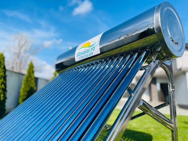 PANOUri Solare PRESURIZATe 200L Apa Calda INOX SOLAR Vidate NOU !