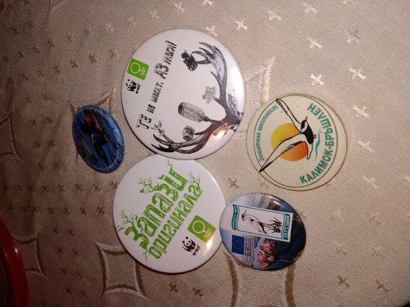 Значки от екологични инициативи