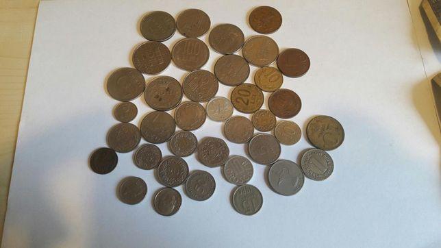 Colectie menede si bancnote vechi
