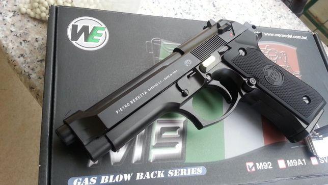 EDITIE LIMITATA-Pistol Airsoft Co2 UMAREX Metalic Beretta M9 gaz 6mm