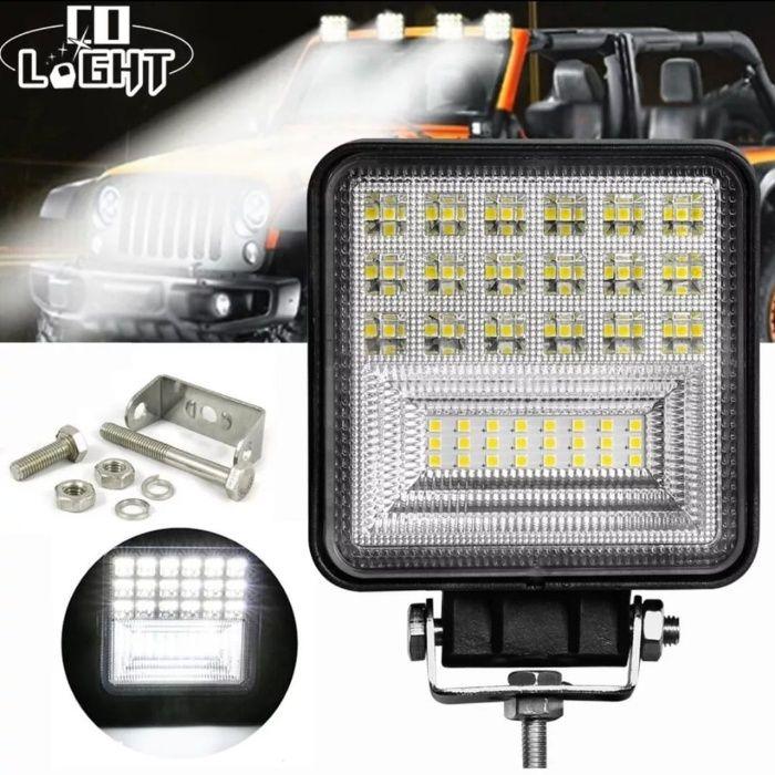 Proiector LED Auto 126W Offroad ATV SUV Tractor Proiectoare LED 126/48 Bucuresti - imagine 1