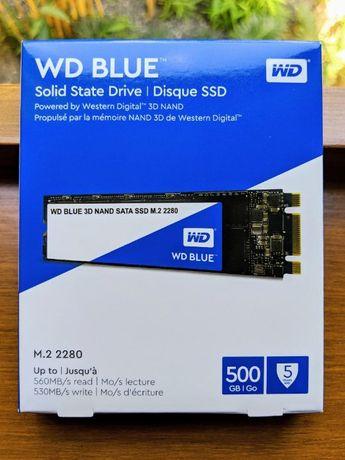 Ssd m.2 Wd blue 500gb