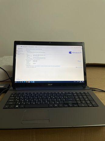 Ноутбук Aser aspire 7750 G