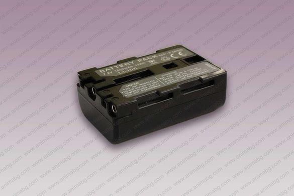 ANIMABG Батерия модел NP-FM50 / NP-FM55H / NP-QM51 за видеокамери на S