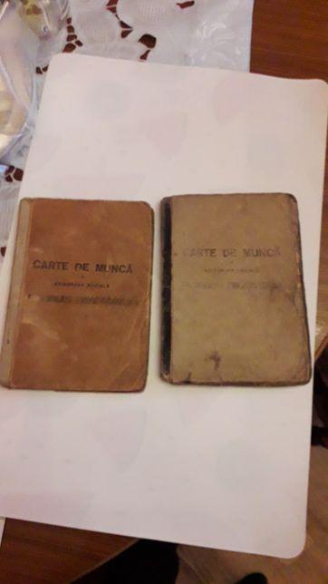 2 cărți de munca 1946 ,1948