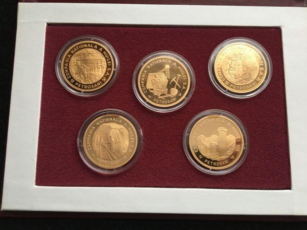 Set medalii Compania Nationala a Huilei