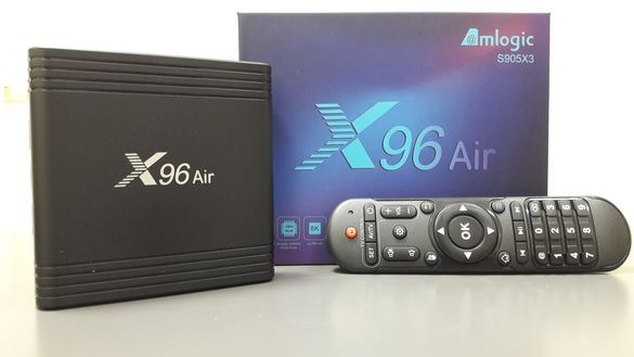 Android 9.0 TV Box X96MAX 4/64GB Smart TV-Box 2.4/5.0G