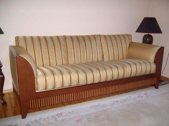 Tриместен луксозен диван