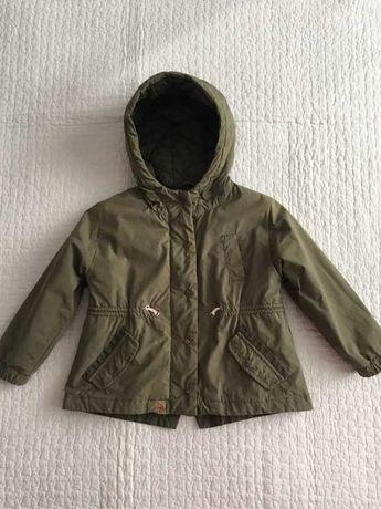 Парка, куртка демисезонная на девочку Zara. Оригинал.