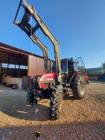 Tractor Case 4210 cu încărcător frontal