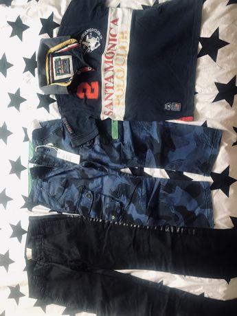 Vand pachet baieti 2 pantaloni Diesel+ tricou