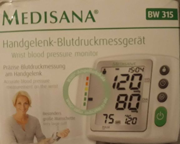 Tensiometru Medisana BW 315