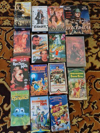 Видеокассеты игровое кино супер фильмы по 900 тенге за штуку