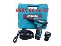 Акумулаторна бормашина / винтоверт Makita 12V + 2 батерии
