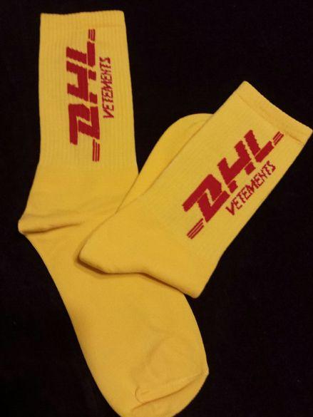 DHL VETEMENTS къси чорапи
