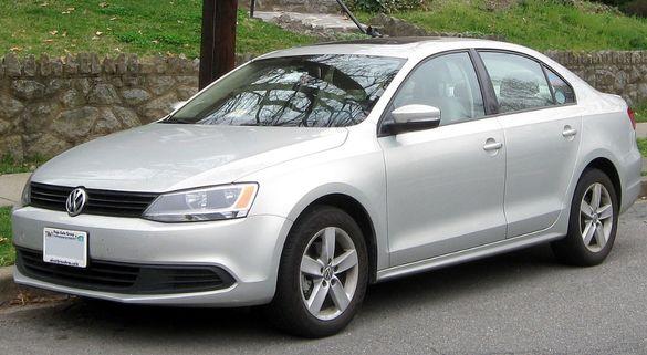 VW Jetta на части