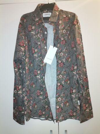 Camasa cu motiv floral Lindbergh