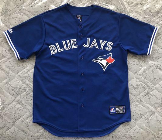 ОРИГИНАЛ Majestic MLB Toronto Blue Jays Brett Lawrie Jersey - р.XL