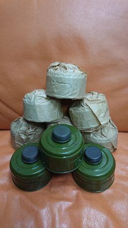 Новые советские фильтры для противогазов. Складское хранение.