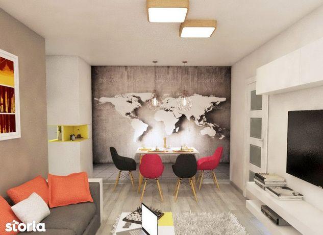 Apartament  2 camere Cug , 45 metri, etaj 2 Cod:129944