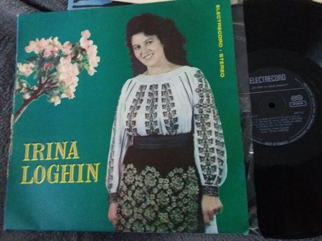 "Disc vinil pickup Irina Loghin ""Sa cint cu drag omului/Vazui tineretea"