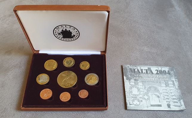 Set monetar euro Malta 2004