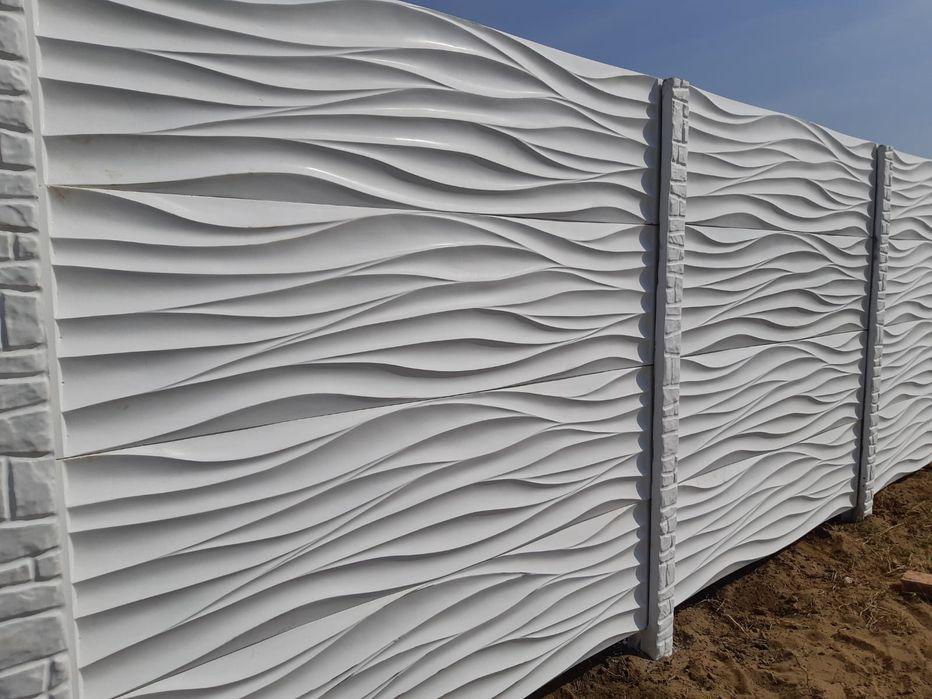 Gard din placi beton Barcea Mica - imagine 1