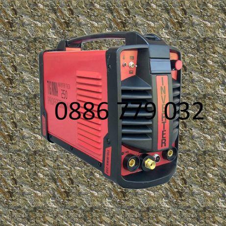 250А МАХ Professional Електрожен + Аргон инверторен IGBT с дисплей