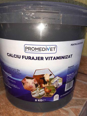 Calciu furajer vitaminizat