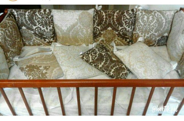 Полный комплект для кроватки новорождённого