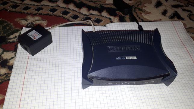 ADSL роутер б/у цв черный