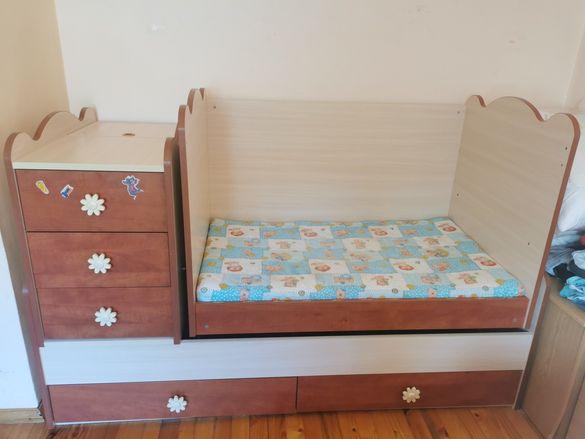 Детско трансформиращо легло