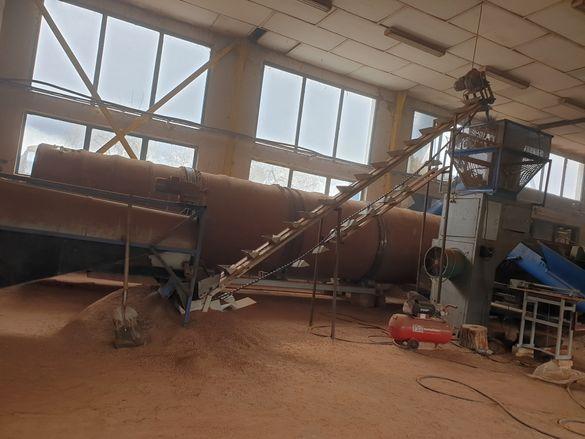 Производствена линия за дървени пелети