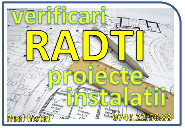 Verificari RADTI proiecte