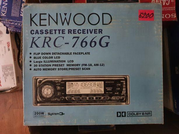 Продам новую магнитолу kenwood (кассетник)