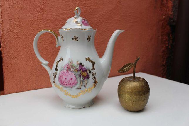 Ceainic portelan de colectie ZEH SCHERZER, inceput secol 20