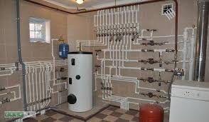 Отопление,монтаж системы вентиляции с притоком и оттоком.