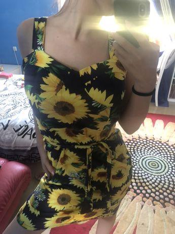 Турецкое красивое Летнее платье в идеальном состоянии! Размер М, L
