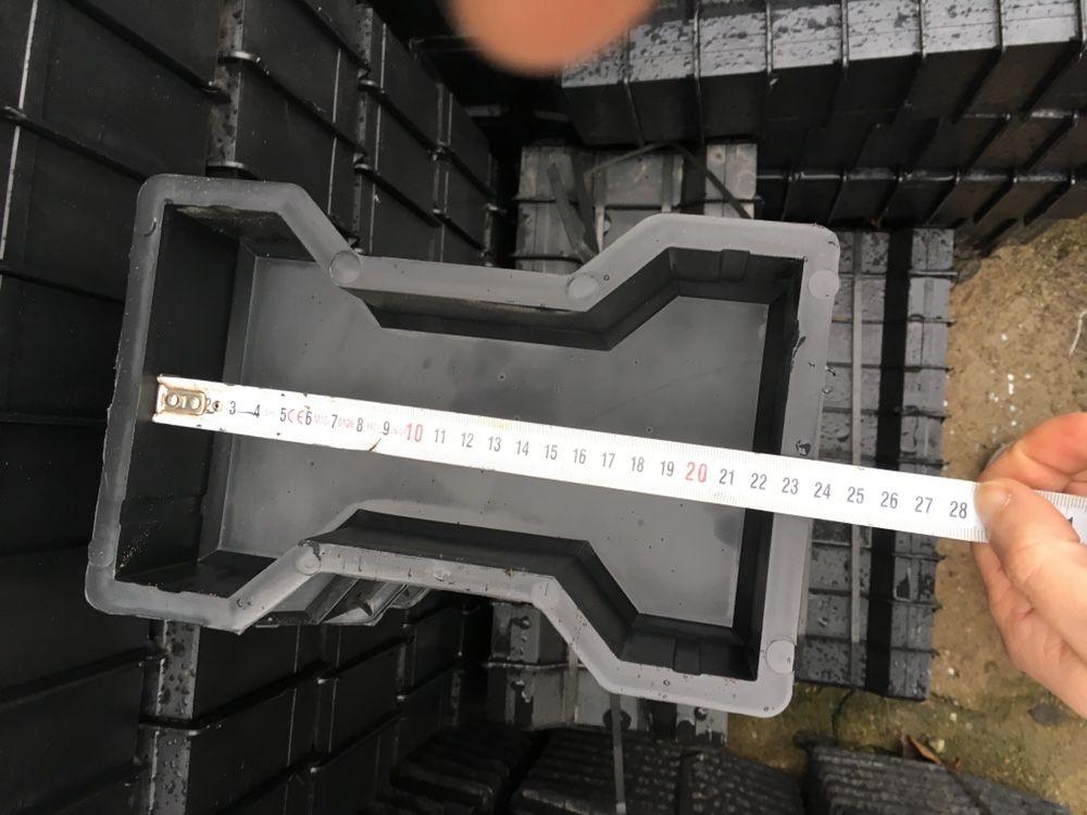 Matrite forme pavaj pavele beton polipropilena noi