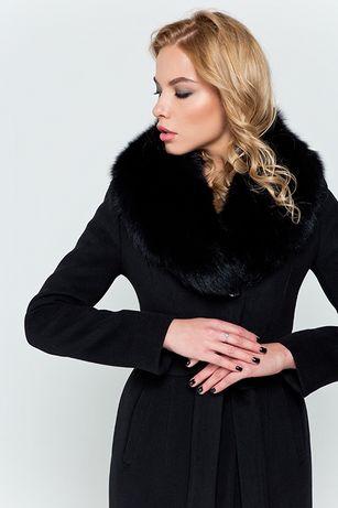 Пальто KENT зима, мех песец