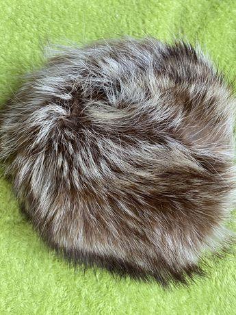 Шапка естетвен косъм