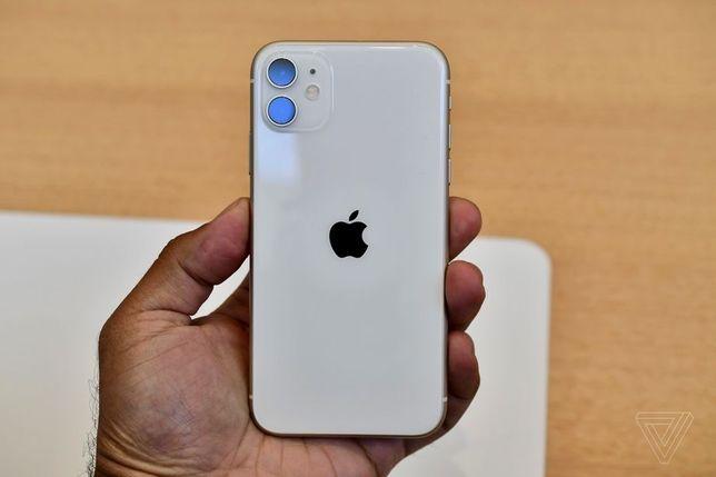 Iphone 11 белый Slim Box