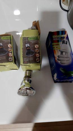 Лампа нагрева для черепах, ящериц, змей