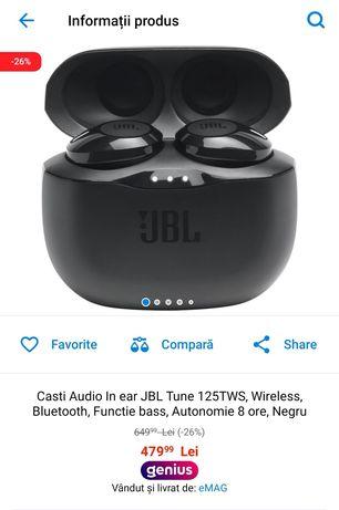 Casti Bluetooth JBL