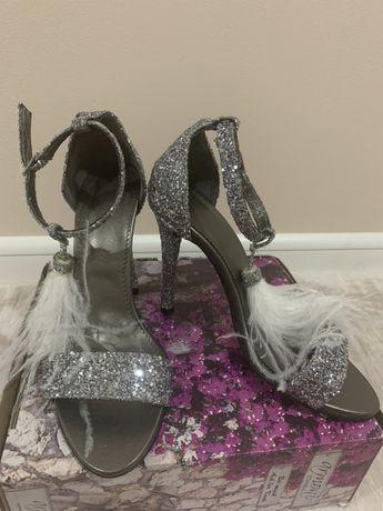 Sandale din piele elegante